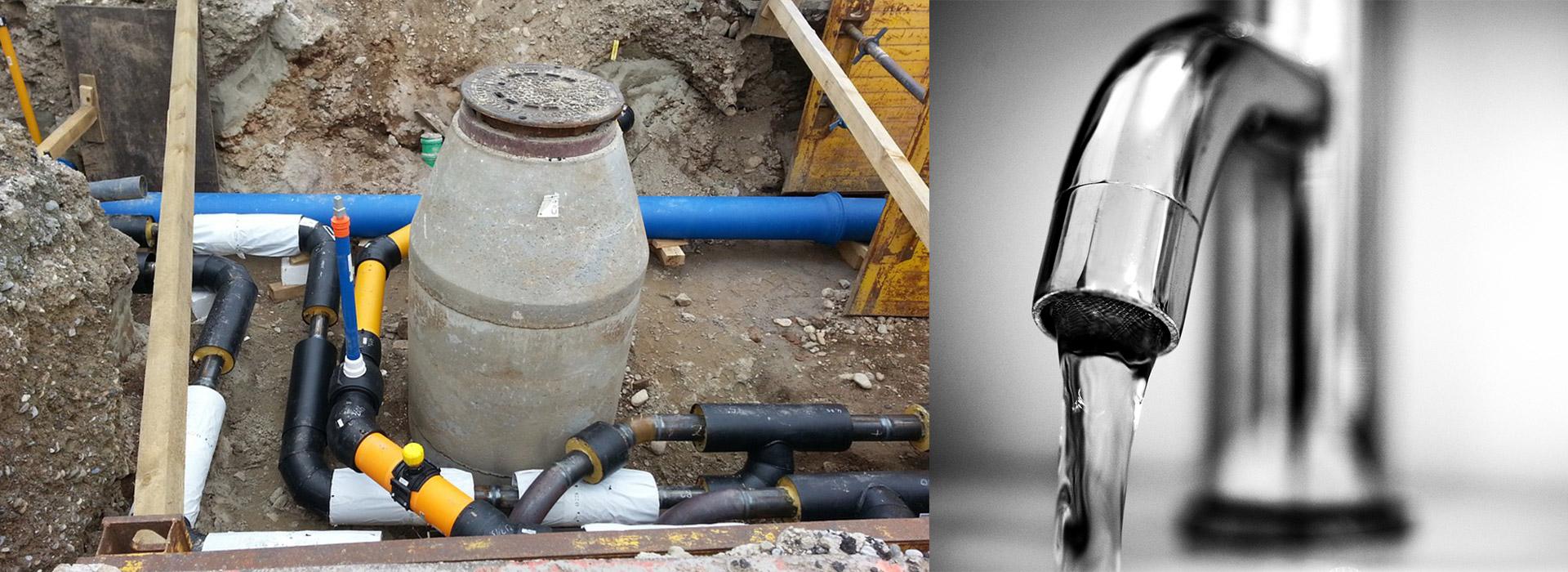 Instalaţii utilizare şi branşamente apă şi canal